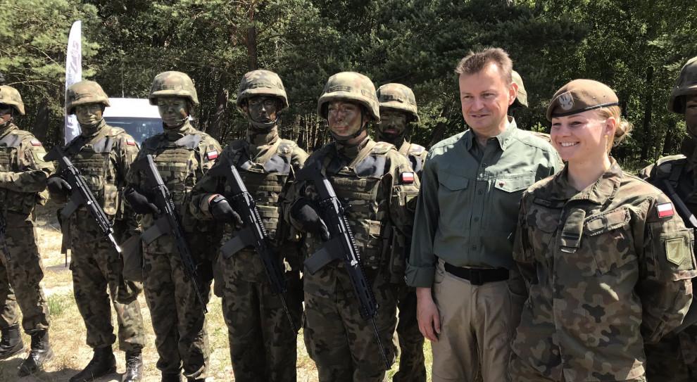 Błaszczak: wstąpienie do Wojska Polskiego to szansa na osobisty rozwój
