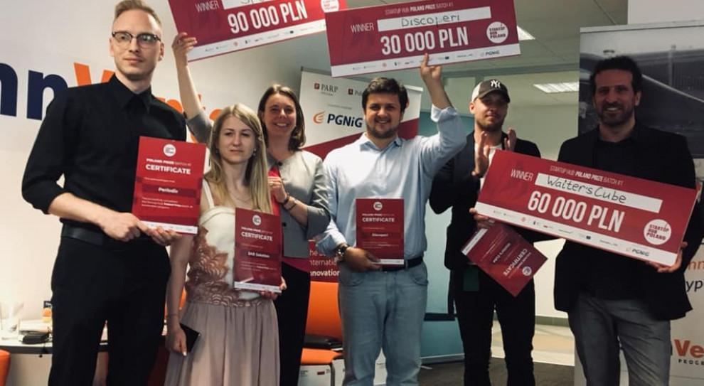 Start-upy Spottitt, Walter's Cubez i Dicsoperi będą się rozwijać w Polsce