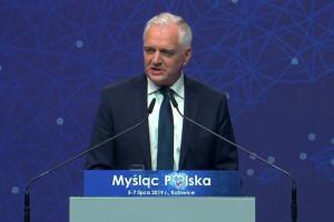 Jarosław Gowin: potrzebujemy inwestycji w talenty