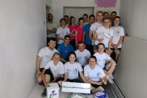 Studenci PŁ wyremontują siedzibę dla Centrum Wsparcia dla Dzieci i Rodzin