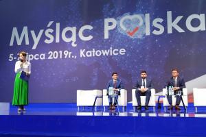 Jadwiga Emilewicz: mieszkańcy oczekują wysokopłatnych miejsc pracy
