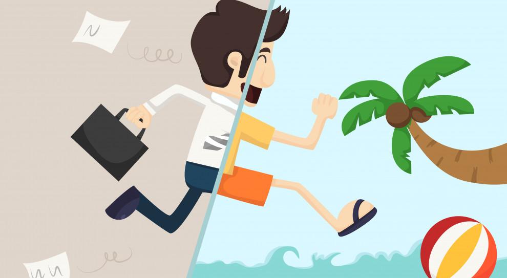 38 proc. Polaków przyznało, że czasami pracuje podczas urlopu. (Fot. Shutterstock)