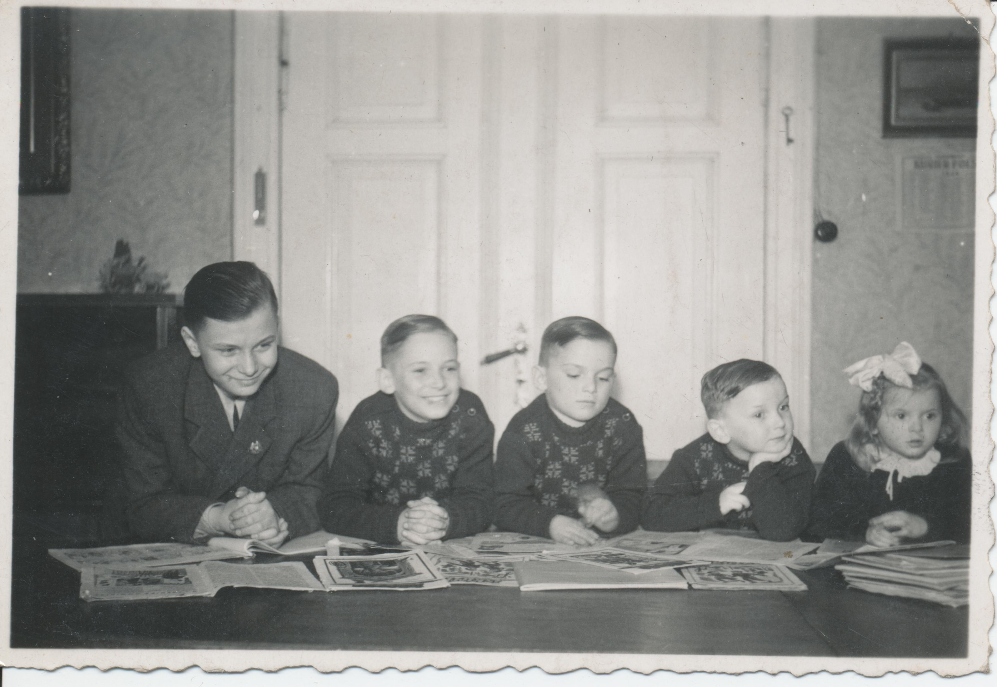 Na zdjęciu 6 pokolenie rodziny Hermannów (fot. archiwum prywatne)