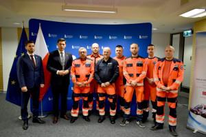 Powstał nowatorski projekt zwiększający bezpieczeństwo ratowników