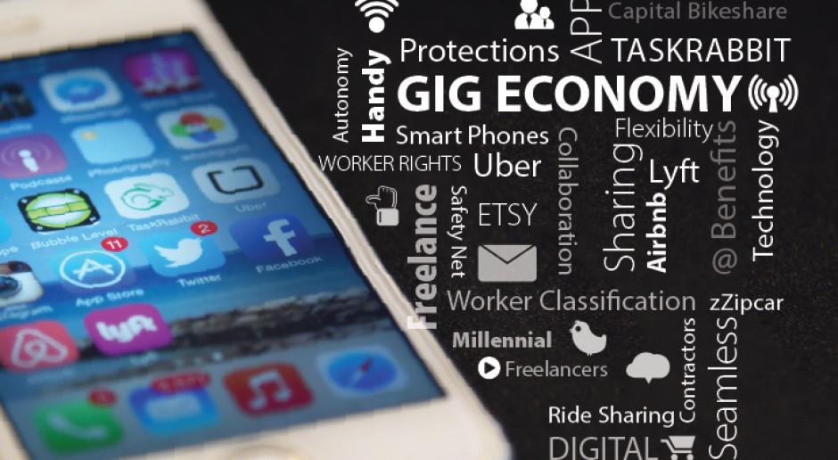 Gig economy to zaprzeczenie panującemu przekonaniu wynikającemu z dziewiętnastowiecznego systemu pracy, że jedna osoba zazwyczaj ma jednego pracodawcę i jedną ścieżkę kariery. (Fot. Mark Warner/flickr.com/CC BY 2.0)