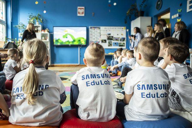 Pracowania Samsung EduLab znajduje się w Szkole Podstawowej nr 234 im. Juliana Tuwima w Warszawie. (Fot. mat. pras.)