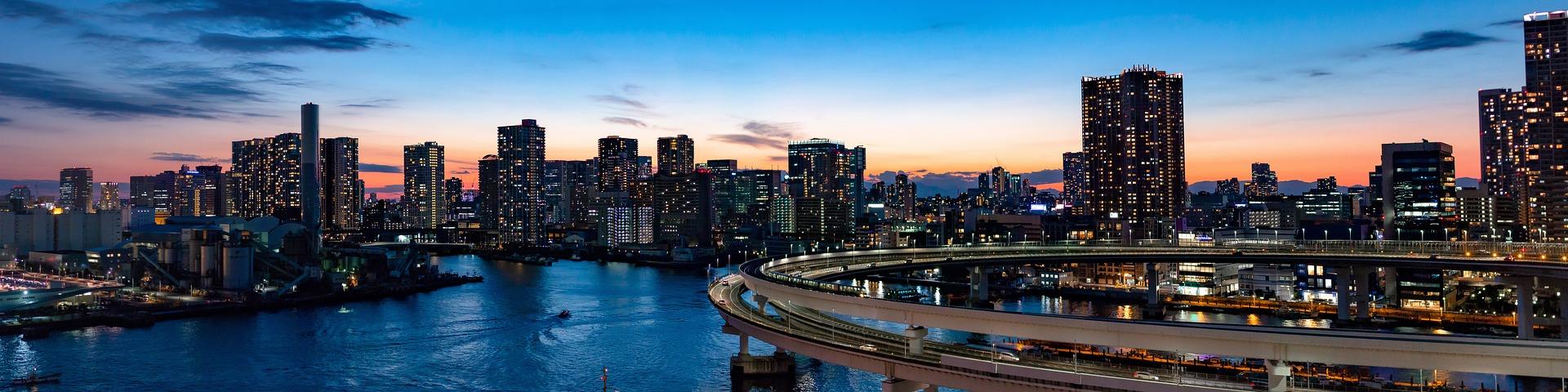 Tokio to jeden z najbardziej zaludnionych obszarów globu. (fot. pixabay.com)