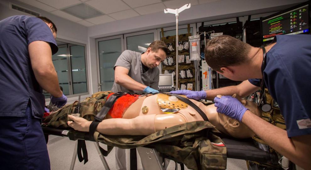 W Wojskowym Instytucie Medycznym trwają szkolenia z medycyny pola walki
