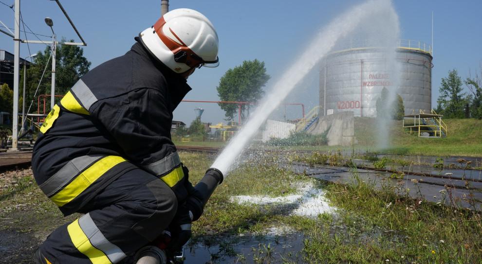 Bezpieczeństwo przede wszystkim. 60 strażaków ćwiczyło w Elektrowni Łaziska
