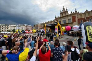 Podczas Tour de Pologne widać nie tylko kolarzy