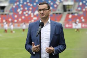 Morawiecki: sport uczy dyscypliny i wytrwałości, a tych cech potrzebujemy w dorosłym życiu