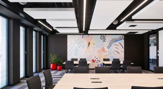 Industrialne biuro zaprojektowane dla programistów
