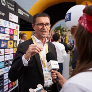 Prezes sieci handlowej na dwóch kołach w Tour de Pologne