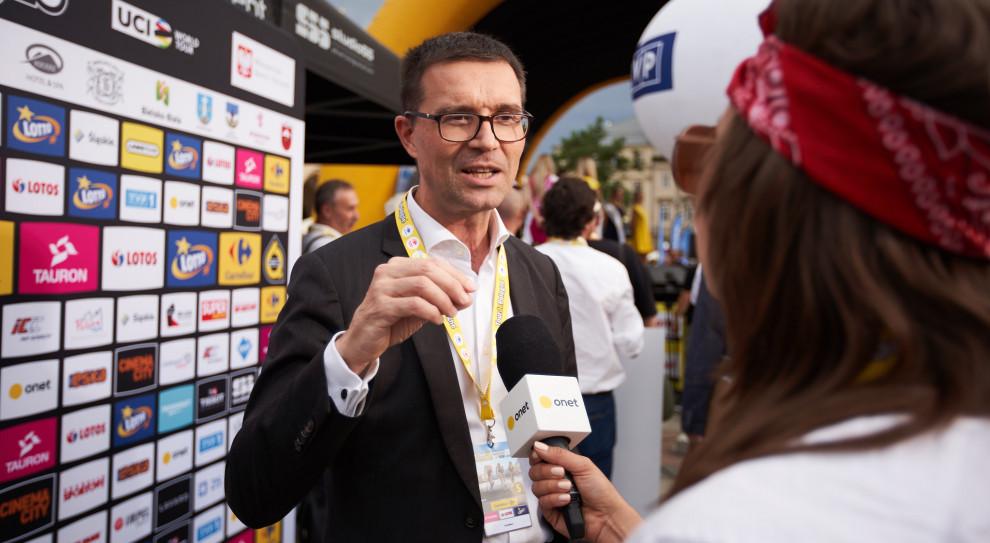Prezes Carrefour Polska na dwóch kołach w Tour de Pologne