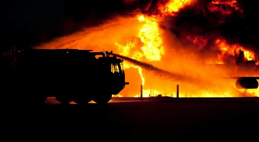 Pożar w firmie Opak w Szczecinku. Pracę straciła cała załoga