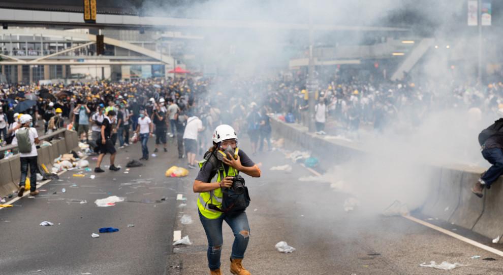 Po zamieszkach w Hongkongu personel medyczny protestuje
