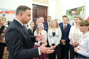 Andrzej Duda: Nowa ustawa sprawi, że usługi społeczne będą lepiej realizowane