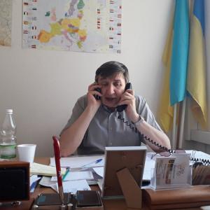 Jurij Kariagin, przewodniczący Międzyzakładowego Związku Zawodowego Pracowników Ukraińskich w Polsce