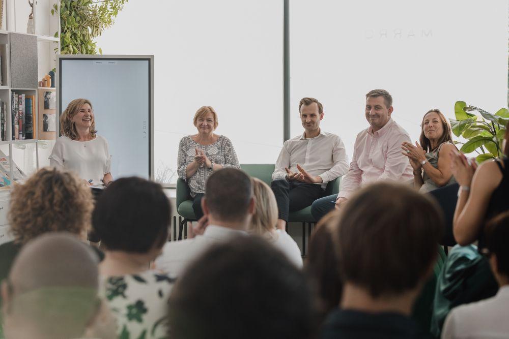 Paneliści zebrani w ramach warszawskiego Spotkania Praktyków Różnorodności w Lepszym Świecie. (fot. materiały prasowe)