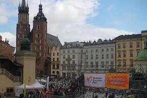 Tysiące pracowników firm i instytucji na trasie Kraków Business Run