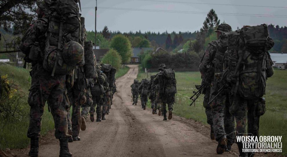Gwardziści z USA szkolili instruktorów Wojsk Obrony Terytorialnej