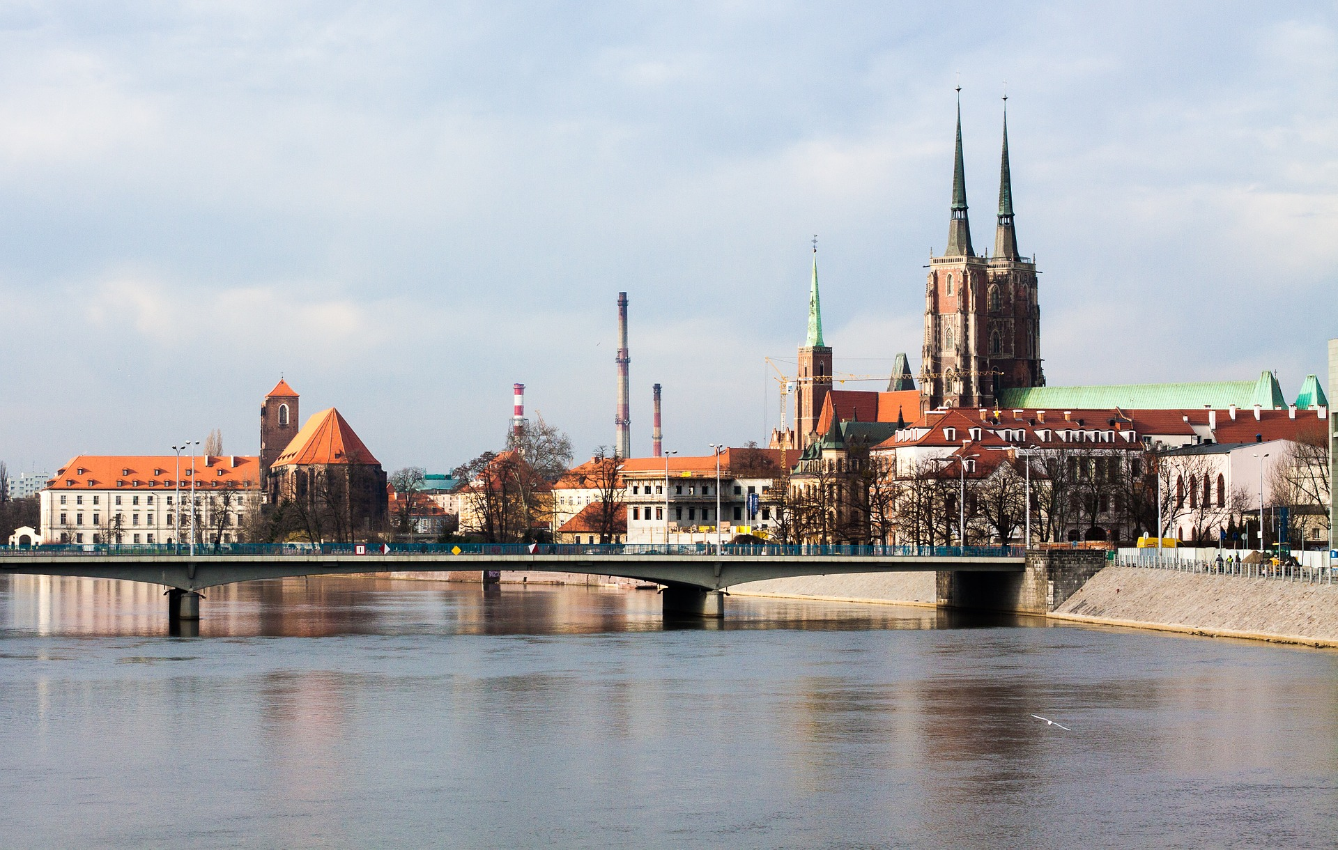 Rynek elastycznej powierzchni biurowej będzie się umacniał zarówno w Warszawie jak i znaczących ośrodkach regionalnych. Jednym z nich jest Wrocław. (fot. pixabay.com)