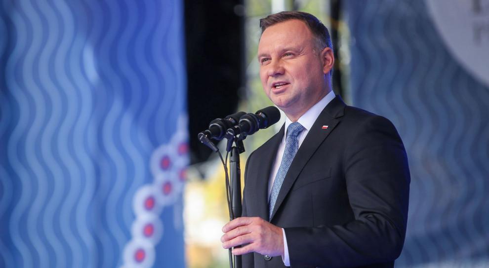 Andrzej Duda: Polacy nie mogą być tanią siłą roboczą, stąd wzrost płacy minimalnej