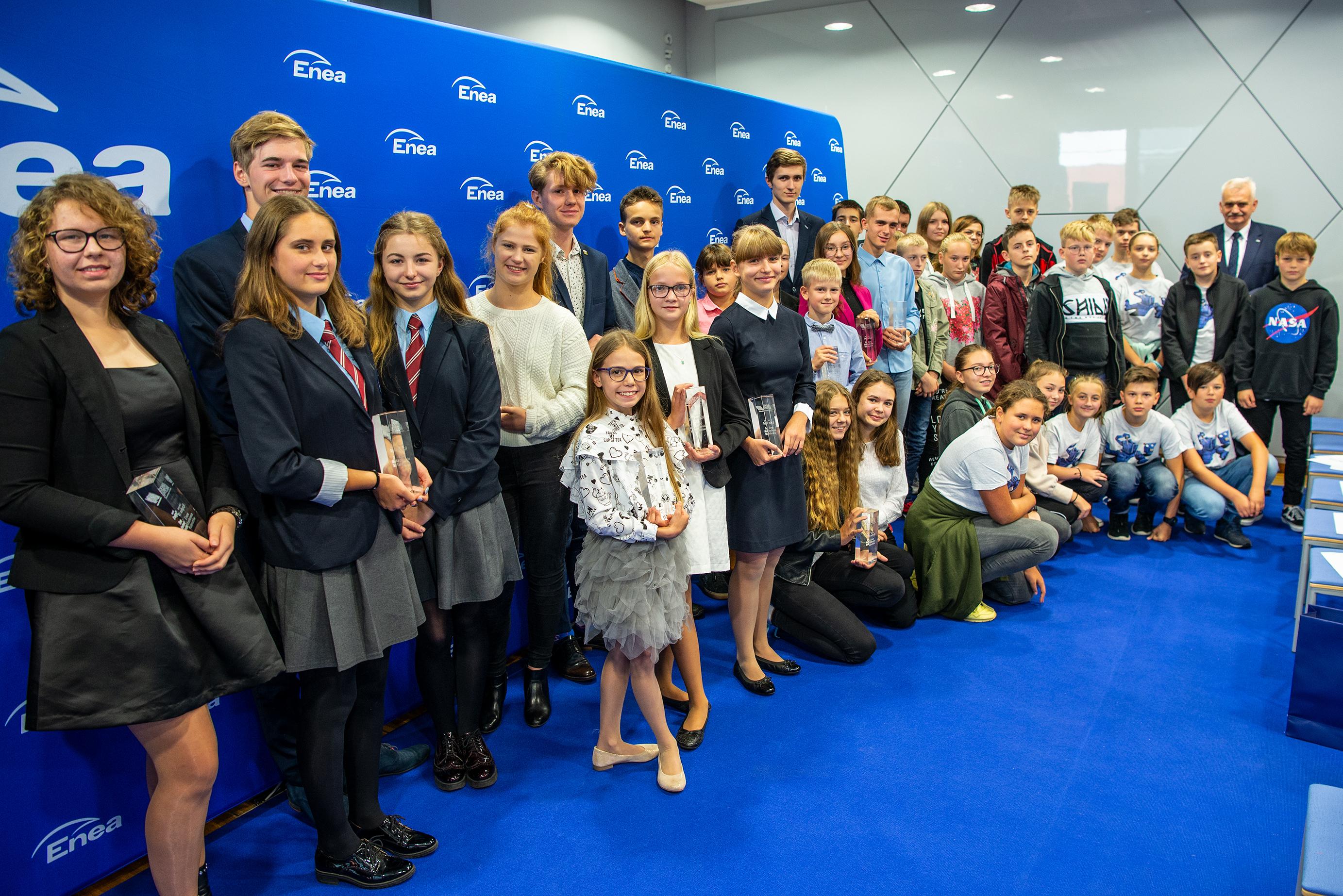 Spośród zgłoszeń jury wybierze maksymalnie 36 uczniów i 20 organizacji kwalifikujących się do drugiego etapu. (fot. Enea/materiały prasowe)