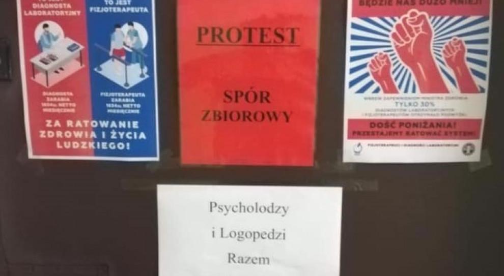 Fizjoterapeuci i diagności rozpoczęli protest. Idą na L4 lub zaległy urlop