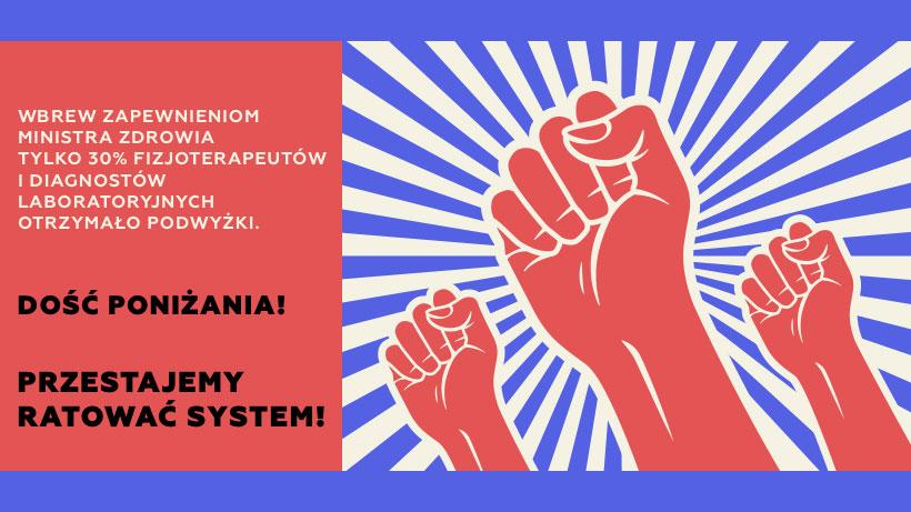 fot. Facebook/Ogólnopolski Związek Zawodowy Pracowników Fizjoterapii - OZZPF