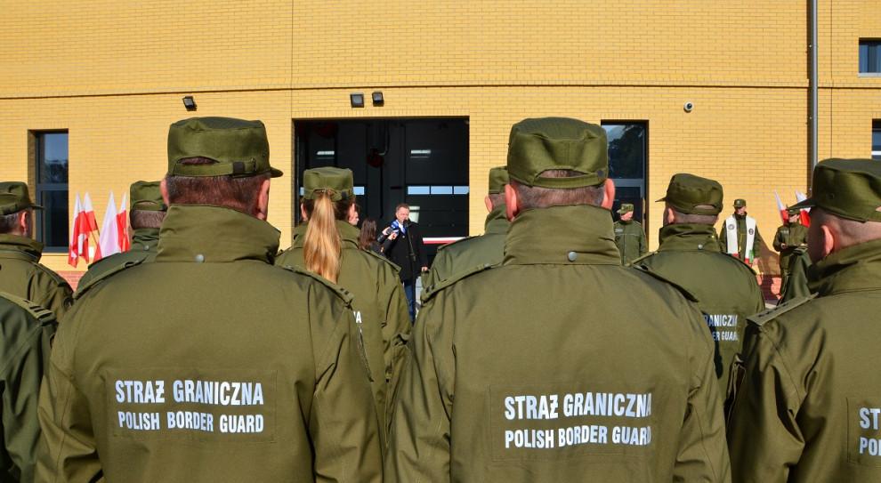 Podlaskie: Nowa stacja obsługi pojazdów polepszy pracę Straży Granicznej