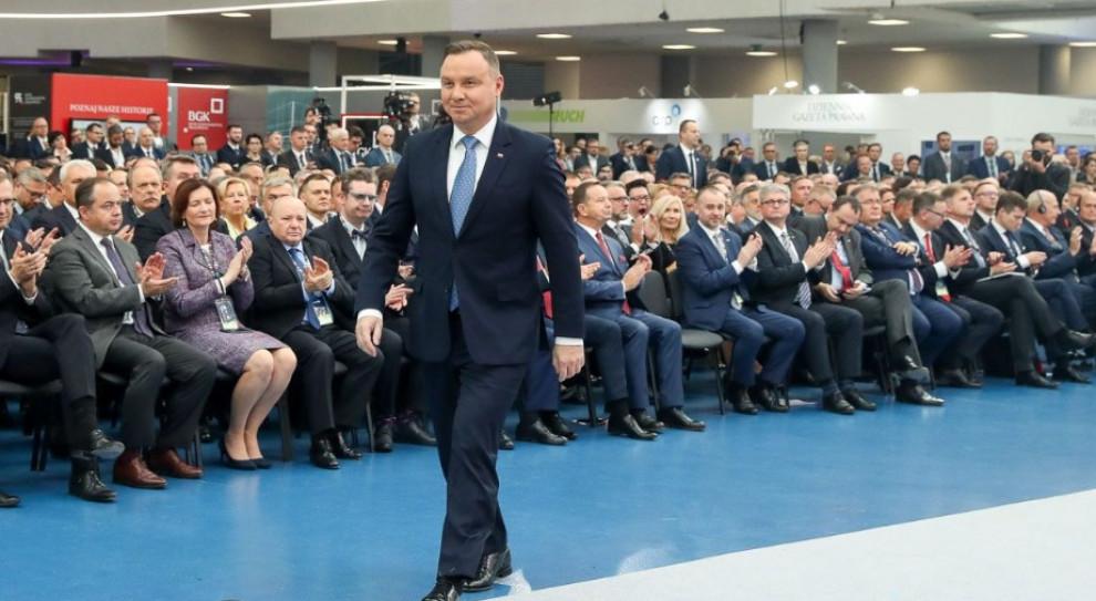 Prezydent zwiedził zakład Ultratech. Spółka zatrudnia ponad 100 osób