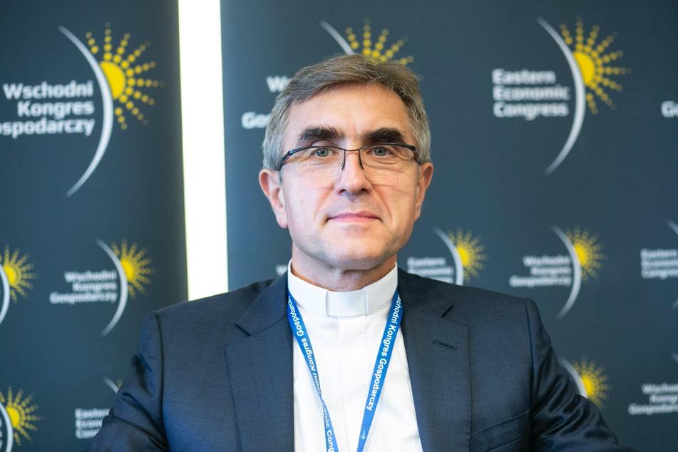 Ks. prof. Stanisław Dziekoński, rektor Uniwersytetu Kardynała Stefana Wyszyńskiego w Warszawie