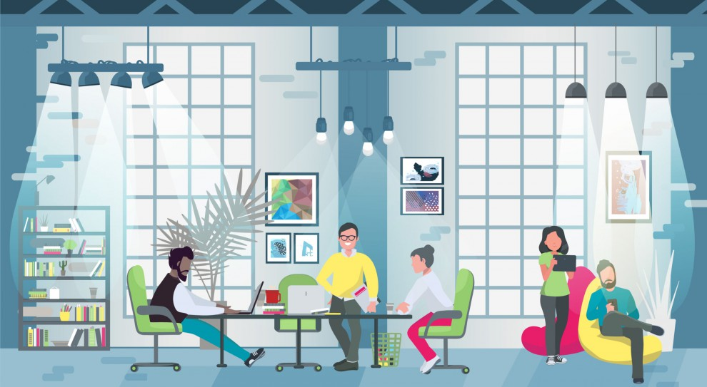 Pracownicy doceniają, jeśli mogą mieć wpływ na wygląd biura. (Fot. Shutterstock)