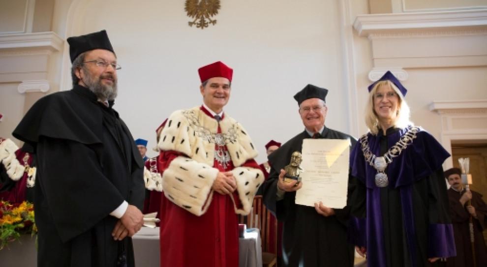 Dr Peter Seyboth doktorem honoris causa Uniwersytetu Jana Kochanowskiego