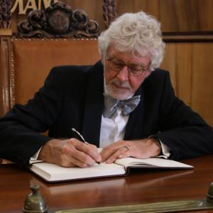 Reinhard Luehrmann doktorem honoris causa Uniwersytetu im. Adama Mickiewicza