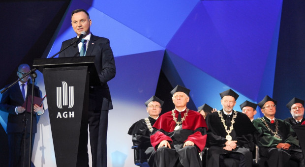 100-lecie AGH. Uroczystości z udziałem prezydenta RP i wicepremiera