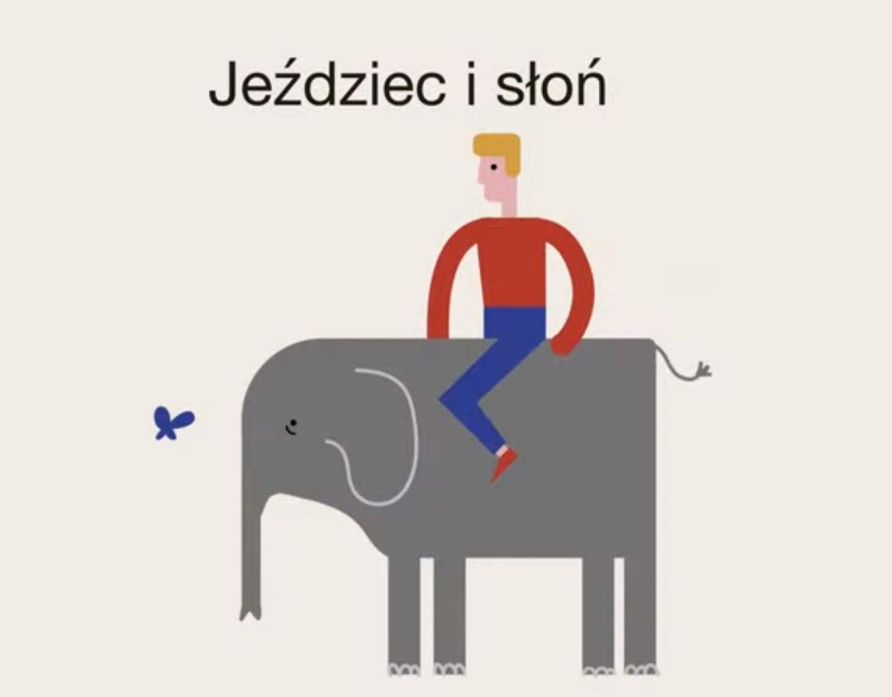 Metafora jeźdźca i słonia (Fot. SWPS)
