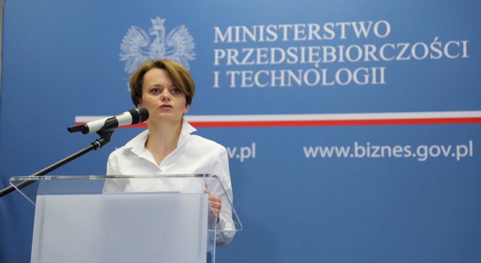 Jadwiga Emilewicz: Myślę, że limit 30-krotności składek na ZUS nie zostanie zniesiony