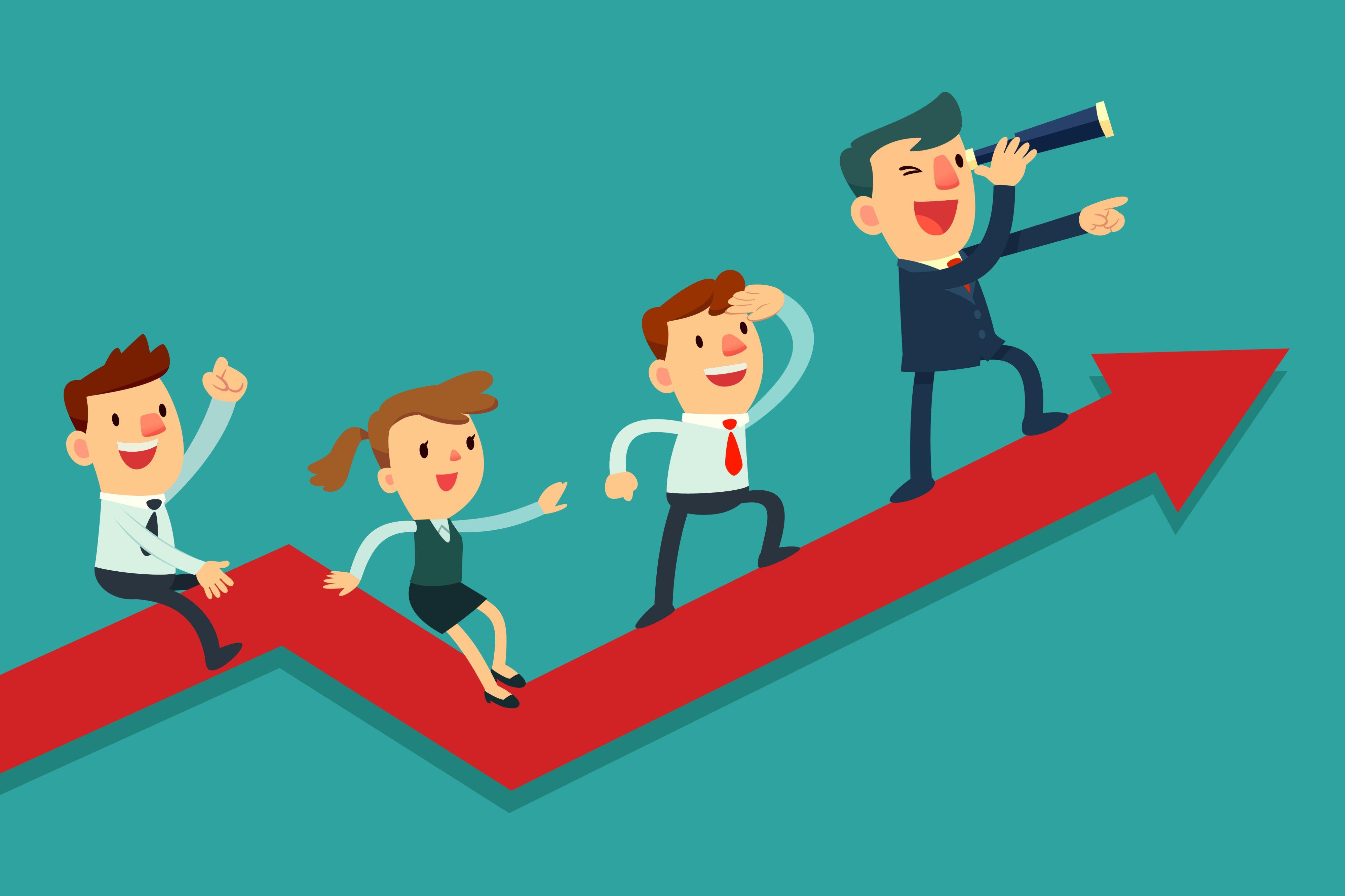 Korzyścią dla firmy wdrażającej program upskillingu czy reskillingu jest możliwość uzupełnienia luk kadrowych, obniżenie kosztów rekrutacji, czy też dobre przygotowanie do realizacji strategii biznesowych. (Fot. Shutterstock)