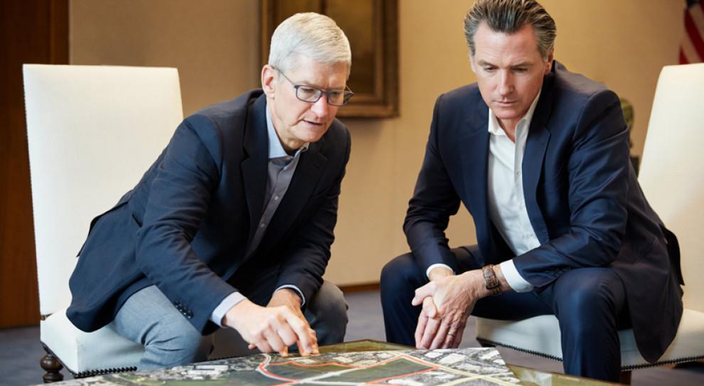 Apple obiecuje 2,5 mld dol. na budowę domów