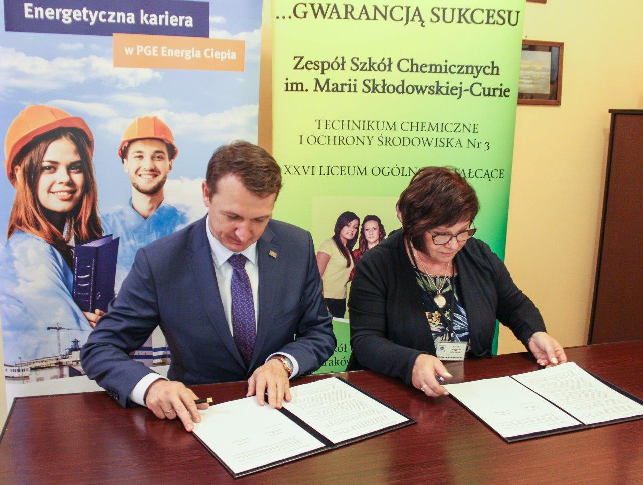 Obok współpracy ze szkołą w Krakowie PGE Energia Ciepła informuje o jeszcze jednej akcji, w którą zaangażuje się spółka. (fot. materiały prasowe)