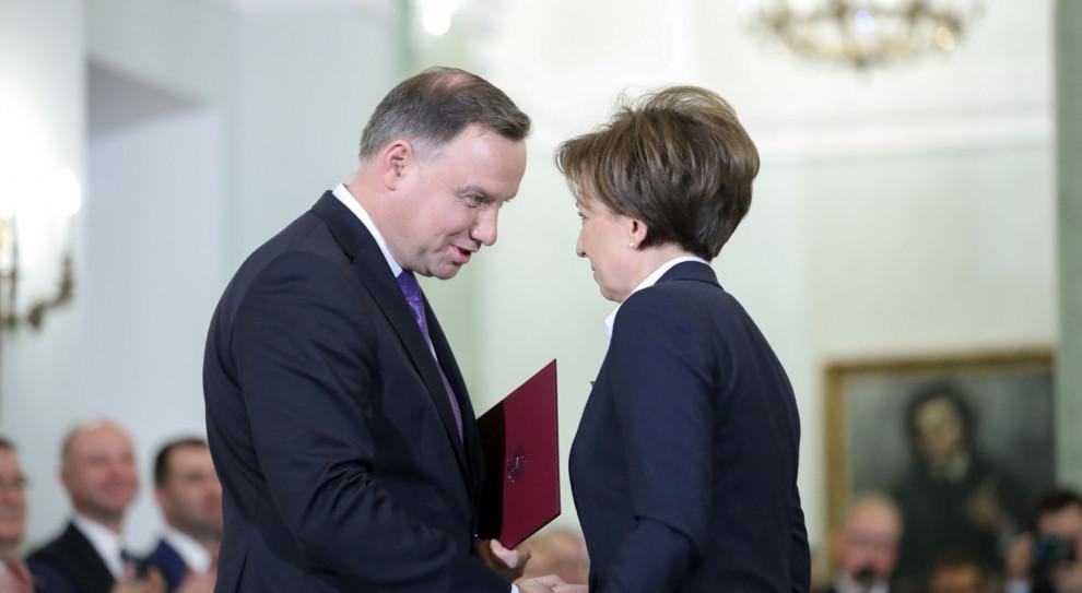 Marlena Maląg - nowa minister rodziny, pracy i polityki społecznej zaprzysiężona