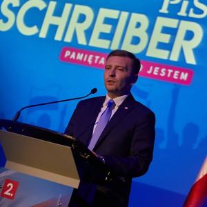 Schreiber: Wycofaliśmy się ze zniesienia limitu 30-krotności. Przeprowadzimy konsultacje