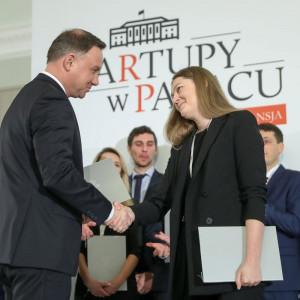 Andrzej Duda wyróżnił najlepsze start-upy