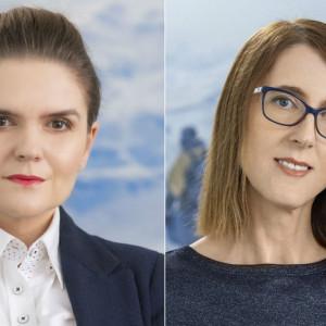 Magdalena Kowalska i Agnieszka Wolszczak z Iron Mountain Polska