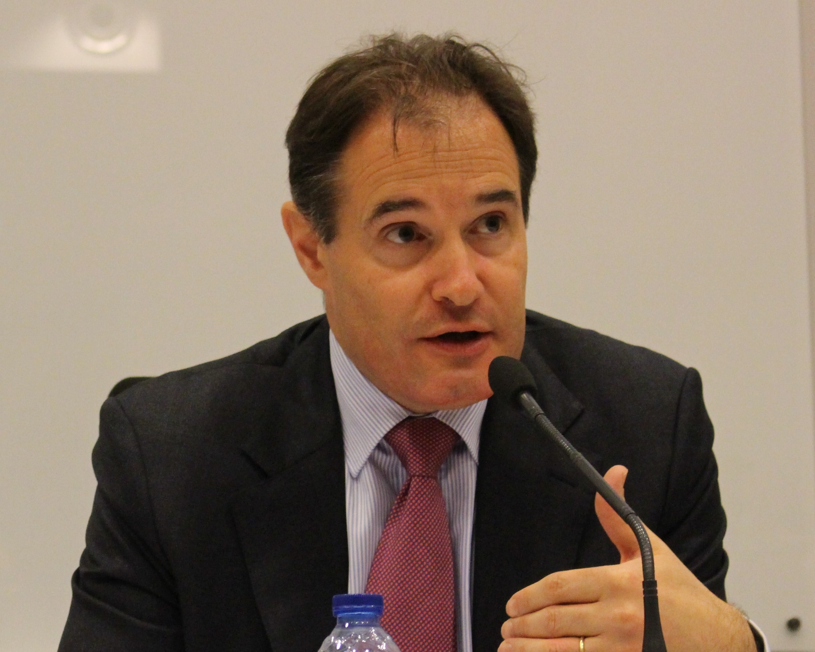 Fabrice Leggeri, dyrektor Europejskiej Agencji Straży Granicznej i Przybrzeżnej Frontex (fot. wikimedia, licencja CC BY-SA 3.0)