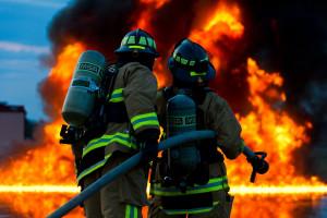 Pożar fermy indyków w Wielkopolsce