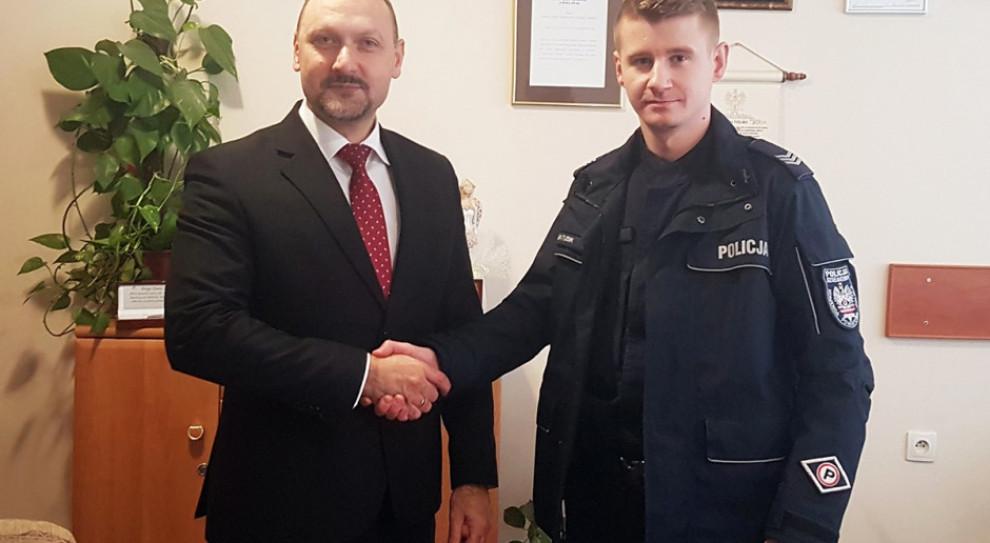 Pierwszy taki przypadek w Polsce. Policjant na etacie w szpitalu
