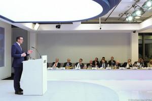 Morawiecki w Berlinie chwali polską gospodarkę